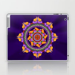 The Lu Mandala; Prosperity & Success Laptop & iPad Skin