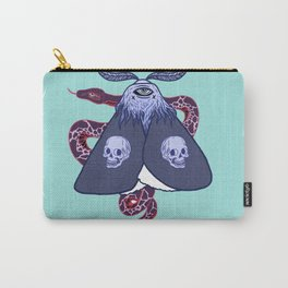 Ghostly Moth Carry-All Pouch