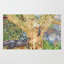 Squirrel Fever Rug