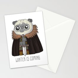 winter Is puging Stationery Cards