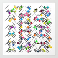 ColourPlane v1 Art Print