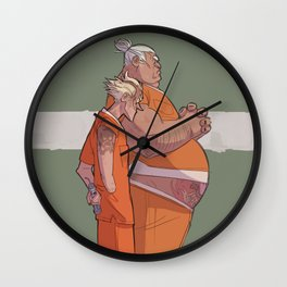 JAIL JUNKERS Wall Clock