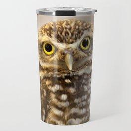 Burrowing Owl 1 Travel Mug