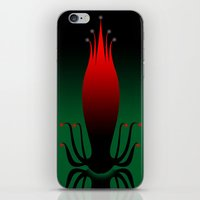 lotus flower iPhone & iPod Skins featuring lotus by otonae
