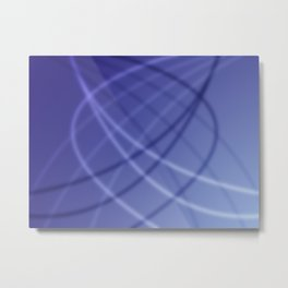 Blue Background Metal Print