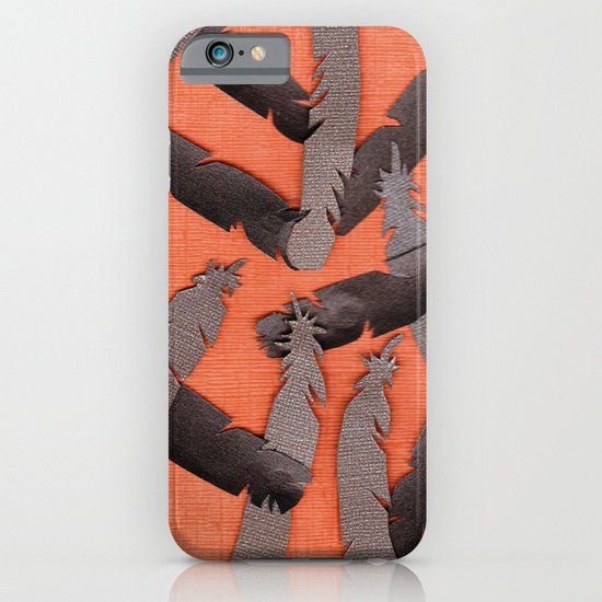 Leather Feathers iPhone & iPod Case