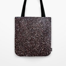 Black Sand IV (Red) Tote Bag