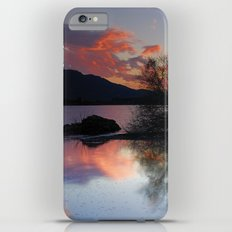Trees in the water at the red sunset iPhone 6s Plus Slim Case