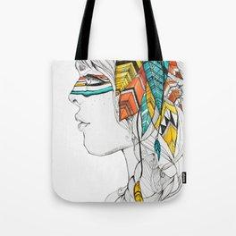 Native Woman Tote Bag