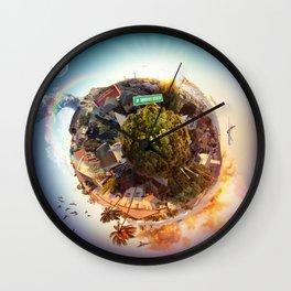 Planet Kaimuki Wall Clock
