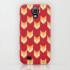 Mr. Fox Pattern Galaxy S4 Slim Case