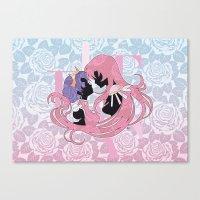 utena Canvas Prints featuring Utena la filette revolutionnaire by Neo Crystal Tokyo