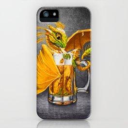 Beer Dragon iPhone Case