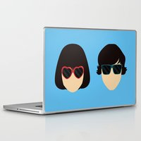submarine Laptop & iPad Skins featuring Submarine by Loverly Prints