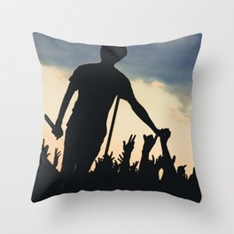 Watsky - Warped Tour Throw Pillow