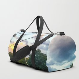 Cotton Candy Sky Duffle Bag