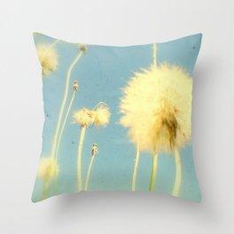 Dandelions #3 Throw Pillow