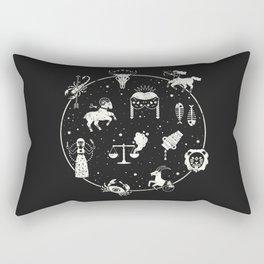 Strange Fortunes: Midnight Rectangular Pillow