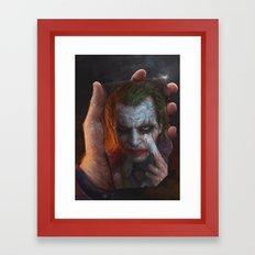 The Joke Framed Art Print