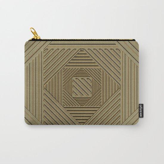 Golden Maze Carry-All Pouch