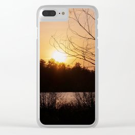 Sunset in Mont Tremblant Clear iPhone Case