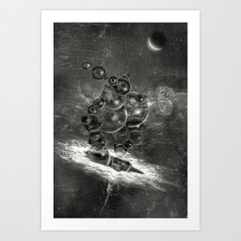 Lovecraft's Yog-Sothoth Art Print