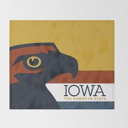 Iowa - Redesigning The States Series Throw Blanket