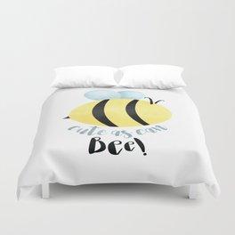 Cute As Can Bee! Duvet Cover