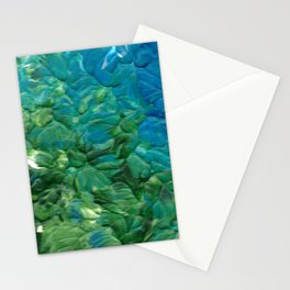 Transition, Abstract Acrylic Stationery Cards