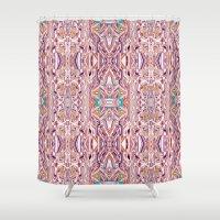 fairy tale Shower Curtains featuring Fairy Tale/Skazka by ARTDROID
