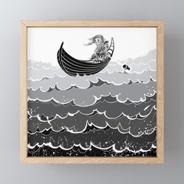 Death At Sea Framed Mini Art Print