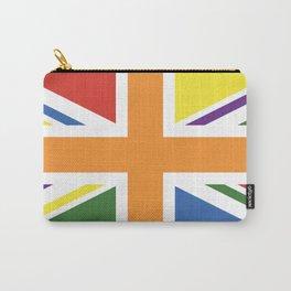RAINBOW PRIDE UK FLAG LBGT LBGT+ LBGTQB+ Carry-All Pouch