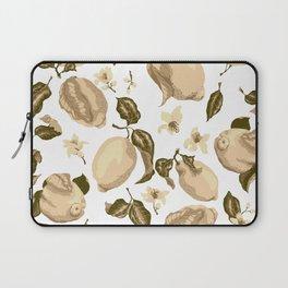 Lemon Slices Graphic Design Laptop Sleeve
