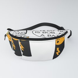 Funny Batteries AA Meeting Fanny Pack