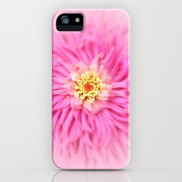 Fluffy Pink Textued iPhone Case