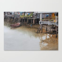 When The Rain Is Over Canvas Print