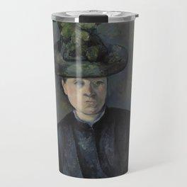 Madame Cézanne with Green Hat Travel Mug