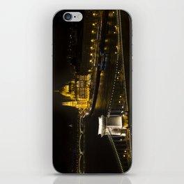 Budapest At Night iPhone Skin