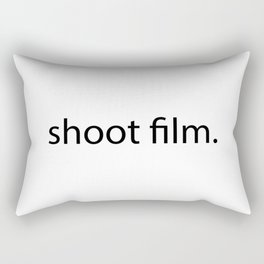 shoot film. Rectangular Pillow