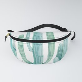 Cacti Fam Turquoise Fanny Pack
