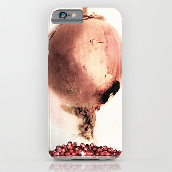 Onion story iPhone & iPod Case
