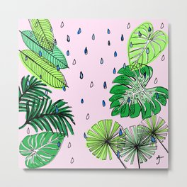 Rainforest Refresh Metal Print