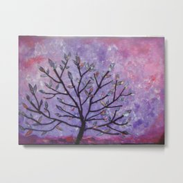 Tree Locs - Organically Grown Metal Print