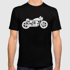 Honda CB750 - Café racer series #1 MEDIUM Black Mens Fitted Tee