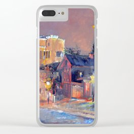 Andrew's Descent Clear iPhone Case