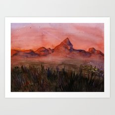 Fictional Landscape I Art Print
