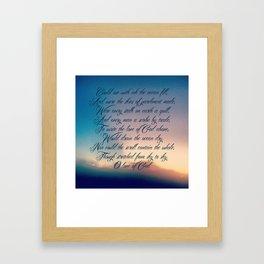 Love of God Framed Art Print