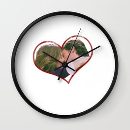 Meredith and Derek Wall Clock
