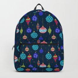 CHRISTMAS GLITTER - BLUE Backpack