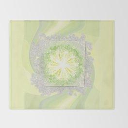 Triptychs Unveiled Flower  ID:16165-114729-45271 Throw Blanket